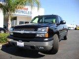 2005 Black Chevrolet Silverado 1500 LS Extended Cab #17901543