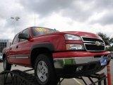 2006 Victory Red Chevrolet Silverado 1500 Z71 Crew Cab 4x4 #17890900