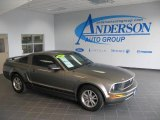 2005 Mineral Grey Metallic Ford Mustang V6 Premium Coupe #17902869
