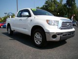 2008 Super White Toyota Tundra Double Cab #17894566
