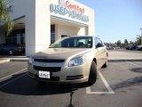 2008 Sandstone Metallic Chevrolet Malibu LS Sedan #17901535