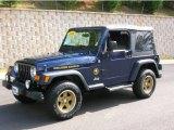 2006 Midnight Blue Pearl Jeep Wrangler Sport 4x4 Golden Eagle #17903169