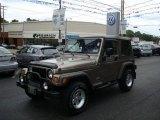 2006 Light Khaki Metallic Jeep Wrangler Sport 4x4 #17891132