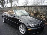 2006 Jet Black BMW 3 Series 330i Convertible #1790725