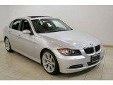 2008 Titanium Silver Metallic BMW 3 Series 335i Sedan #17970249