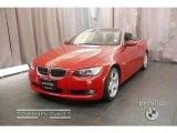 2007 Crimson Red BMW 3 Series 328i Convertible #17953416