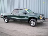 2003 Dark Green Metallic Chevrolet Silverado 1500 HD Crew Cab #1769029