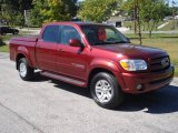 2005 Salsa Red Pearl Toyota Tundra Limited Double Cab 4x4 #17970987