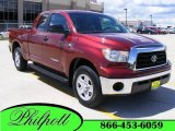 2009 Salsa Red Pearl Toyota Tundra SR5 Double Cab #17963390