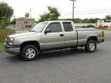 2003 Light Pewter Metallic Chevrolet Silverado 1500 LS Extended Cab 4x4 #17964456
