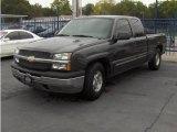 2004 Dark Gray Metallic Chevrolet Silverado 1500 LS Extended Cab #17956277