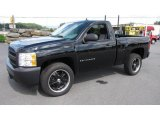 2008 Black Chevrolet Silverado 1500 Work Truck Regular Cab #17967705