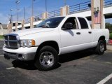 2003 Bright White Dodge Ram 1500 ST Quad Cab 4x4 #17967412
