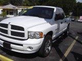 2004 Bright White Dodge Ram 1500 SLT Quad Cab #17969245