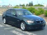 2008 Deep Green Metallic BMW 3 Series 328i Sedan #17954537