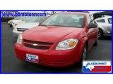 2007 Victory Red Chevrolet Cobalt LS Sedan #17968843