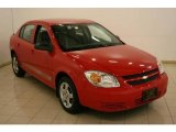 2007 Victory Red Chevrolet Cobalt LS Sedan #17970712