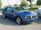 2006 Vista Blue Metallic Ford Mustang GT Deluxe Coupe #17968171