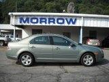 2008 Moss Green Metallic Ford Fusion SE #17959202