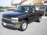 2000 Onyx Black Chevrolet Silverado 1500 LS Regular Cab 4x4 #18022913