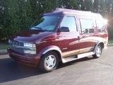 2002 Chevrolet Astro Dark Carmine Red Metallic