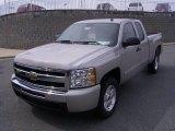 2009 Silver Birch Metallic Chevrolet Silverado 1500 LT Extended Cab #18039928