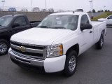 2009 Summit White Chevrolet Silverado 1500 LS Regular Cab 4x4 #18039920
