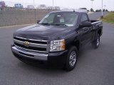 2009 Blue Granite Metallic Chevrolet Silverado 1500 LT Regular Cab 4x4 #18039908