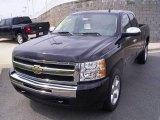 2009 Black Chevrolet Silverado 1500 LT Extended Cab 4x4 #18039915
