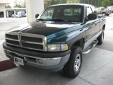 1998 Emerald Green Pearl Dodge Ram 1500 Laramie SLT Extended Cab 4x4 #18031999