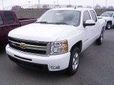 2009 Summit White Chevrolet Silverado 1500 LTZ Crew Cab #18039923