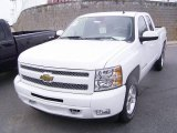 2009 Summit White Chevrolet Silverado 1500 LT Extended Cab #18039941