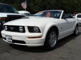 2007 Performance White Ford Mustang GT Premium Convertible #18032252