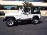 1995 Jeep Wrangler Bright White