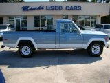 Silver Blue Jeep J Series Truck in 1984