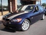 2007 Monaco Blue Metallic BMW 3 Series 328xi Sedan #18027709