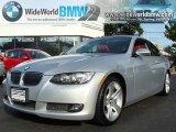 2007 Titanium Silver Metallic BMW 3 Series 335i Coupe #18023825
