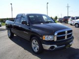 2004 Black Dodge Ram 1500 Laramie Quad Cab #1800165