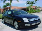 2008 Black Ebony Ford Fusion SEL V6 #18027157