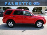 2009 Torch Red Ford Escape XLT V6 #18033278