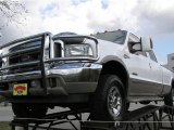 2003 Oxford White Ford F250 Super Duty King Ranch Crew Cab 4x4 #1800307