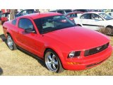 2007 Torch Red Ford Mustang V6 Premium Coupe #1800170