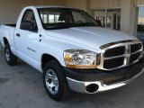 2006 Bright White Dodge Ram 1500 ST Regular Cab #1802837