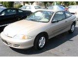 2002 Sandrift Metallic Chevrolet Cavalier Coupe #18093654
