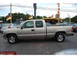 2002 Light Pewter Metallic Chevrolet Silverado 1500 Extended Cab #18107897