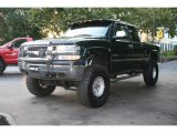 2002 Forest Green Metallic Chevrolet Silverado 1500 LS Extended Cab 4x4 #18106824