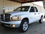 2006 Bright White Dodge Ram 1500 SLT Quad Cab #1802840