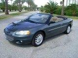 2002 Onyx Green Pearl Chrysler Sebring LXi Convertible #18111203