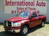 2006 Inferno Red Crystal Pearl Dodge Ram 1500 SLT Regular Cab #1802844