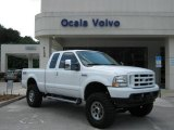 2004 Oxford White Ford F250 Super Duty FX4 SuperCab 4x4 #18098185